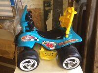 Kids motor electric quad bike