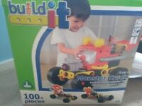Used Kids Build It kits from Early Learning Company (Monster Truck & Starter Set) - good condition