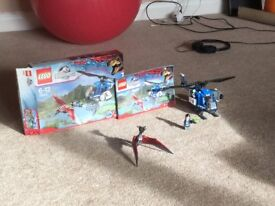 Lego Jurassic World 75915 (Helicopter and Pteranodon set)