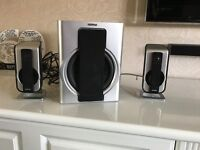 Phillips computer speakers with sub woofer