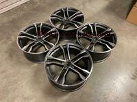 "20 21 22"" Inch Audi SQ8 style alloy wheels A4 A5 A6 A7 A8 Q3 Q5 Q7 Q8 RS / S Models 5X112 66.6"