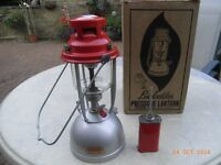 Bialaddin Pressure Lamp And Original Box With Instruction book
