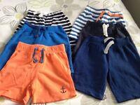 Boys Shorts (x6 pairs)