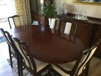 Stag Dining Table and Chairs