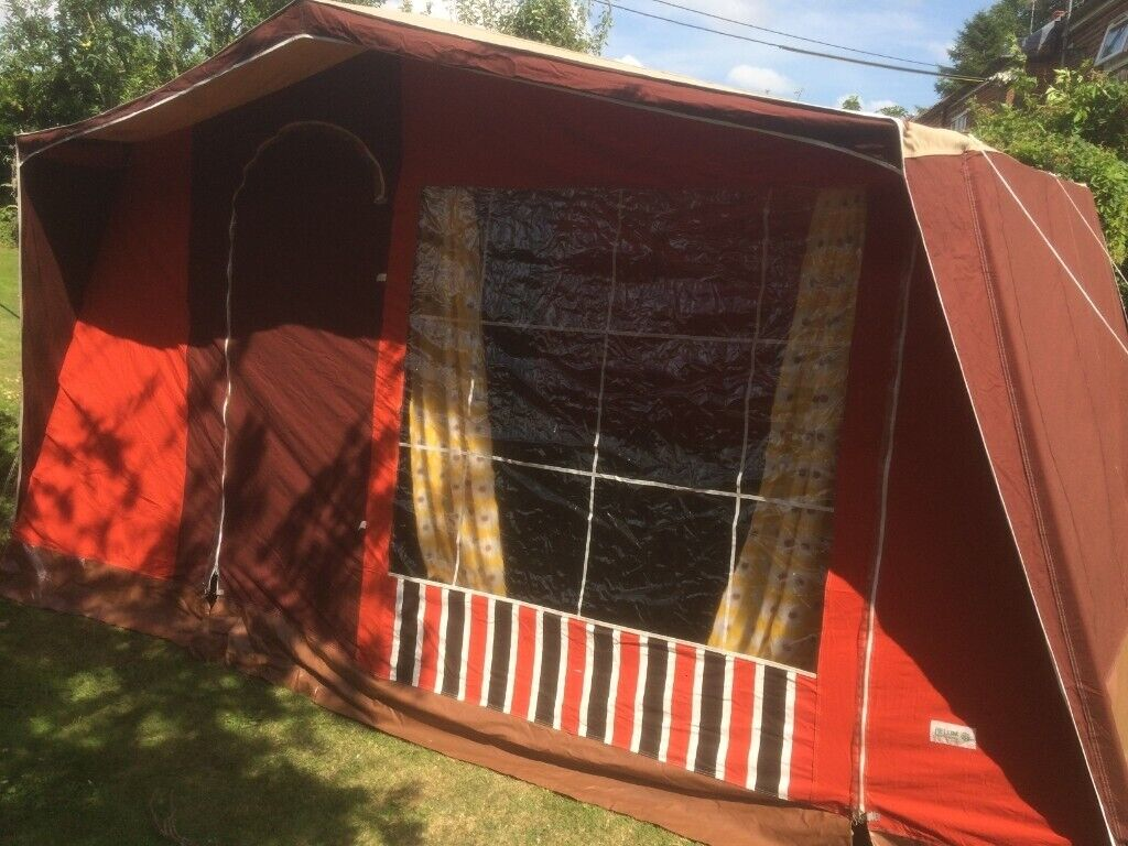Beautiful Canvas Frame Tent Lovely Condition | in Norwich, Norfolk | Gumtree