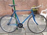 Vintage Steel Single Speed Bike- Quality Components