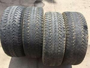 4 Goodyear Wrangler AT/S - LT275/65/18 - 50% - $80 For All 4