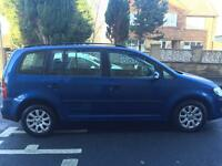 2008 Volkswagen Touran 1.9 Tdi 5 Door 7 Seater MPV Long Mot Ready To Go Perfect Condition PX