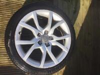 Genuine Audi A5 alloy wheel 18''