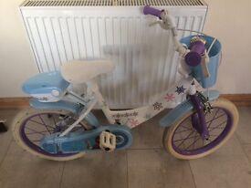 """Frozen Girls Bike 12"""""""