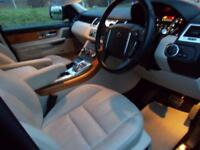 LAND ROVER RANGE ROVER SPORT 3.0 SDV6 HSE 5d AUTO 255 BHP (black) 2012