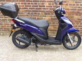 Honda Vision NSC 50 2012. Full Service History! Very good condition!