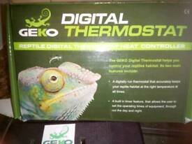 Digital thermostat /reptiles