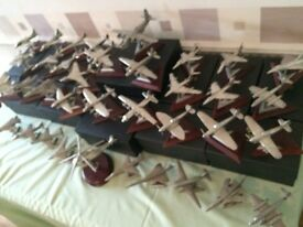 Collection Of 36 x Royal Hamshire Pewter Model Military Aircraft