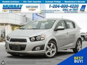 2015 Chevrolet Sonic LT Auto *Heated Seats, Remote Start, OnStar