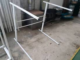 Trade sofa stands ideal shop. £15 each