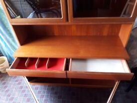 McIntosh Teak Display Cabinet