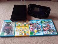 Nintendo Wii U + Mario Kart, Maker, Smash, Zelda TP