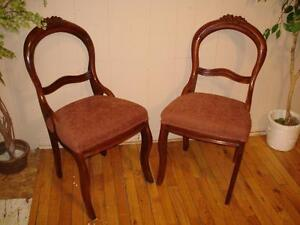 Matching Antique Parlour Chairs