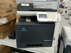 Konica Minolta Bizhub C35 Color Copier Printer Scanner - REPOSSESSED, Print, Scan, Copy, Fax with one tray.