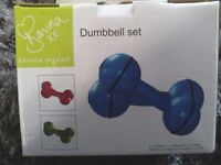 Dumbbell set Davina M Ccall boxed