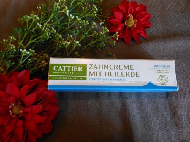 (5,33€/100ml) Cattier Zahncreme Propolis 75ml