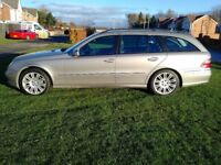 MERCEDES E320 CDI SPORT ESTATE GREAT CONDITION LEATHER INTERIOR SATNAV CHEAP PART EXCHANGE WELCOME