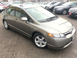 2007 Honda Civic EX/AUTOAIR/PWR ROOF/LOADED/ALLOYS