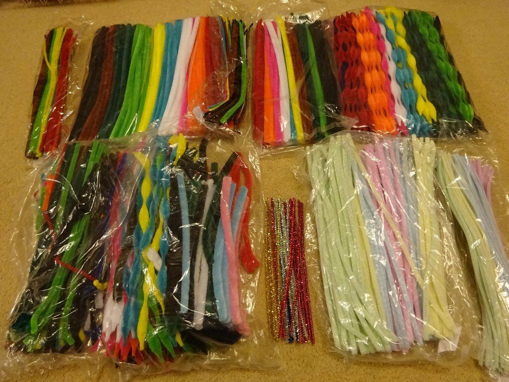 Multi Coloured Pipe Cleaners - assorted