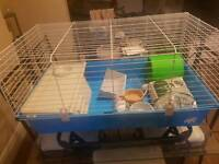 Rabbit/Small animal Cage With Supplies