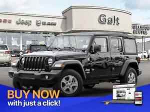 2019 Jeep Wrangler Unlimited SPORT 4X4 | MANUAL UCONNECT