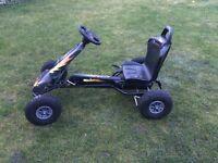 Ferbedo air racer go kart ar-2 black