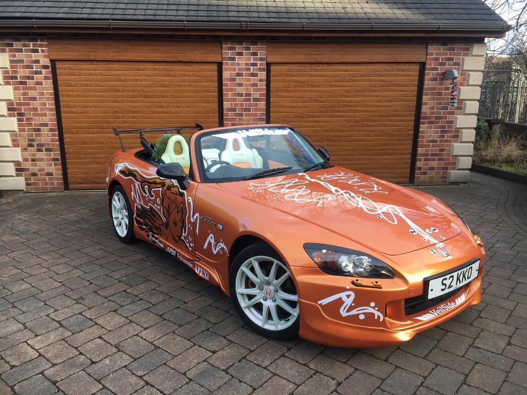 Very rare emola orange Honda s2000 facelift 2004 convertible show car fast  and furious