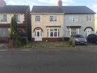 Renovated 3 bedroom semi detached house private let dss ok