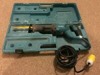Makita 110V reciprocating saw