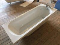 1700 x 700mm Express Bath including Bath Filler Taps & Pop Up Waste