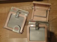 Towel Ring and Toilet Roll Holder - £1.00 Each item