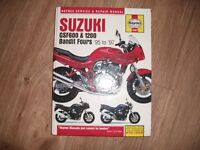 haynes manual for suzuki bandit