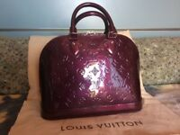 Louis Vuitton Monogram Vernis ALma PM Handbag