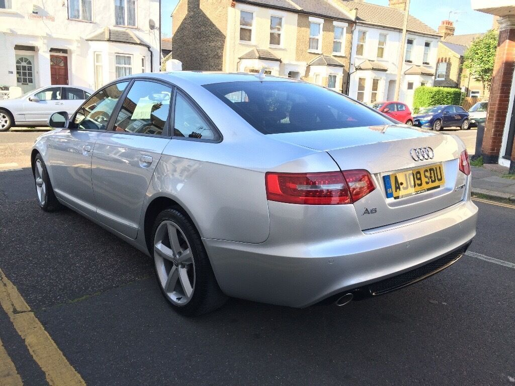 2009 audi a6 2 7 tdi s line auto diesel new shape 2010 huge spec px in manor house london. Black Bedroom Furniture Sets. Home Design Ideas