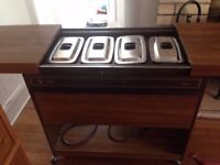Ecko Hostess Trolley circa 1980s immaculate condition all components in tact