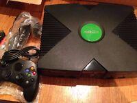 Xbox 160gb console - Retro gaming setup 7000+ Games Coinops