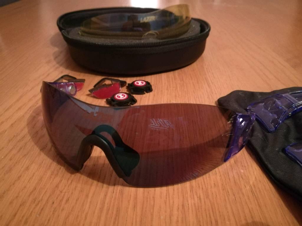 f079da1541b Lazer Magneto M1 Glasses Crystal Blue cycling glasses