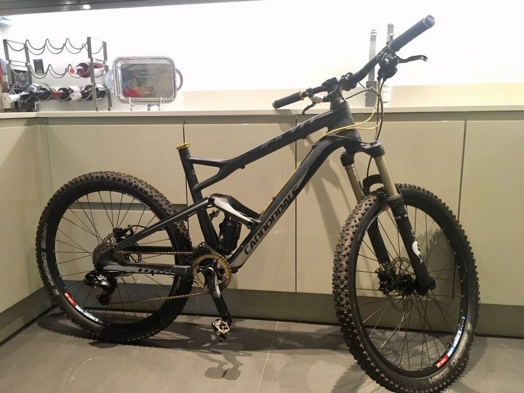 b9292bb0594 2012 CANNONDALE JEKYLL CARBON 2 Full Suspension Mountain Bike REDUCED