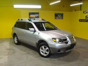 2004 Mitsubishi Outlander LS ~ AWD ~ ALLOY WHEELS ~ CERTIFIED ~