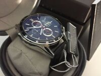New Swiss Tag Heuer Carrera Calibre 16 Day Date Leather Strap CHRONOGRAPH Watch
