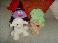 JOB LOT ASSORTED SOFT TOYS - 50p FOR THEM ALL.
