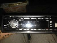 Car Stereo With USB and wires to fit most cars