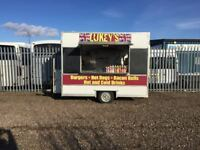 Business opportunity, snack van and pitch, busy industrial estate
