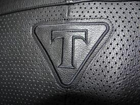 Ladies Triumph Motorbike Jacket - Large